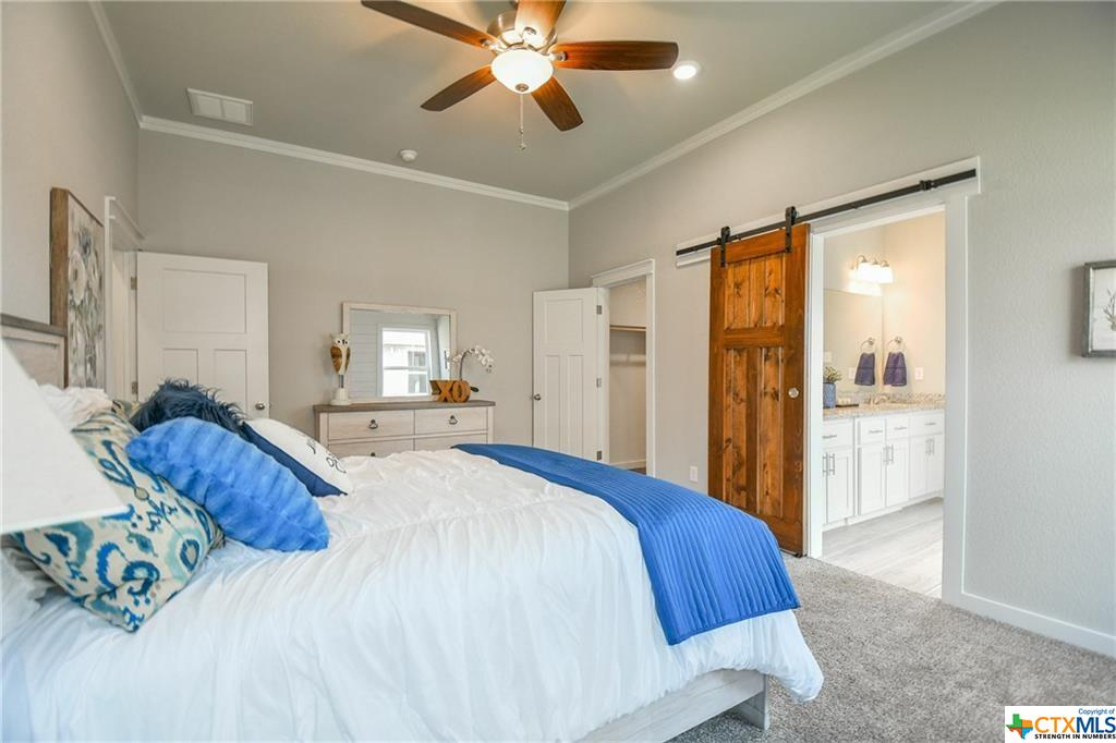 DB Fuller Homes has been building homes in Central Texas - this is the bedroom